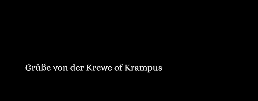 Grusse von der Kerwe of Krampus