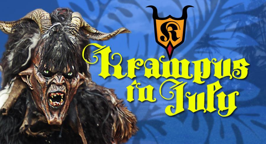 Krampus in July