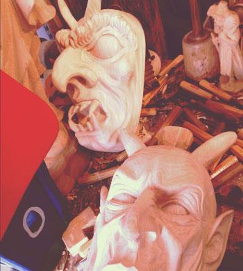 Krampus Masks