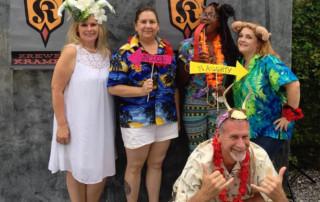 Krampus in July - New Orleans