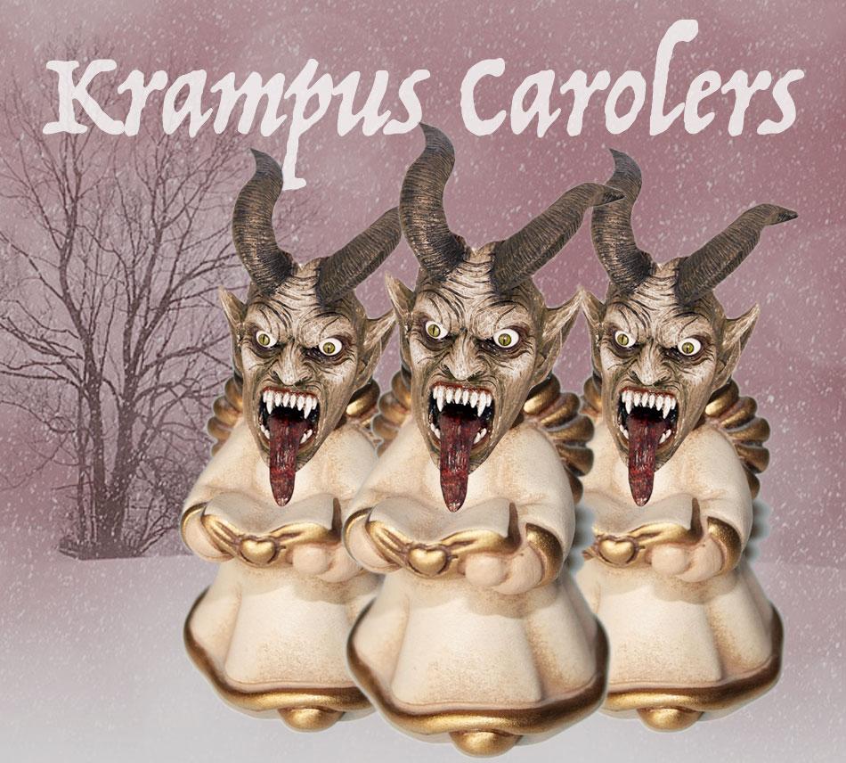 Krampus Carolers