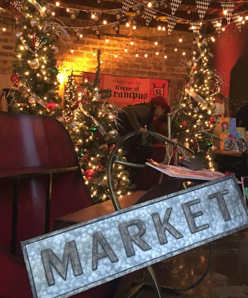 Dark Christmas Market